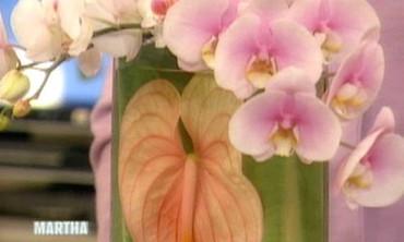 Leaf-Decorated Vases