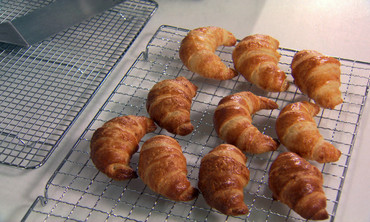 Cutting Croissant Dough