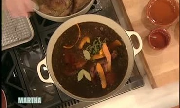 Duck Bourguignon Recipe