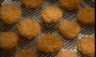 Historic Anzac Biscuits