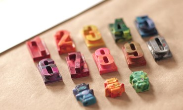 Homemade Marble Crayons