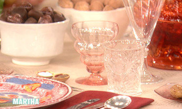Martha's Table Setting