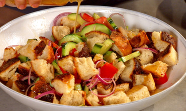 Vege-Bread Salad