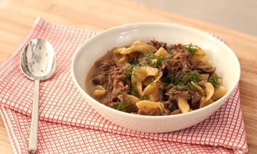 One-Pot Beef Stroganoff