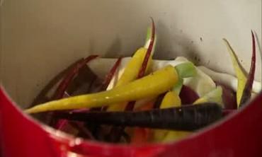 Pot of Mixed Vegetables