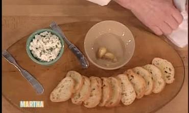 Roasted Garlic on Bread