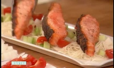 Salmon and Somen Recipe
