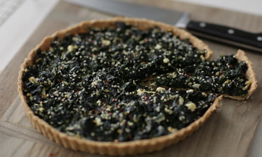 Spinach Tart in 3 Steps