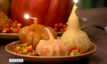 Gourd Candles, 2
