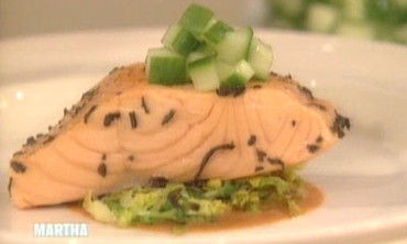 Tea Poached Salmon, 2