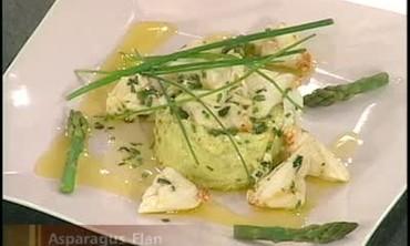 Asparagus and Onion Flan