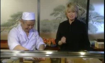 Behind the Sushi Counter