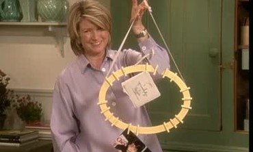 Clothespin Memory Wreath