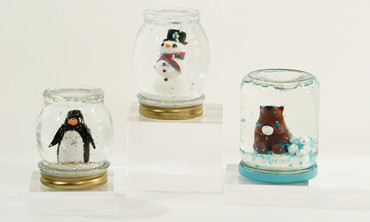 Video diy mason jar snow globes martha stewart now playing solutioingenieria Gallery