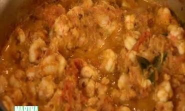 Indian Rock Shrimp Curry