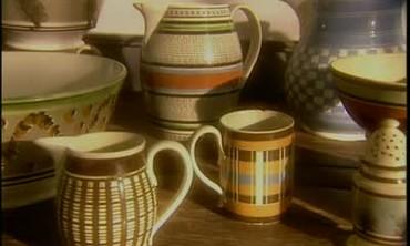 Making Mochaware Pottery