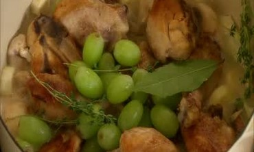One Pot Coq Au Vin Blanc
