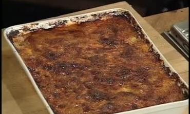 Rustic Baked Polenta Pie