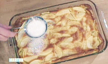Apple Puffed Pancake