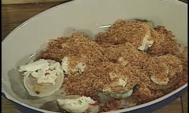 Andouille Encrusted Clams
