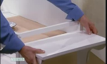 Baby Changing Table Shelf
