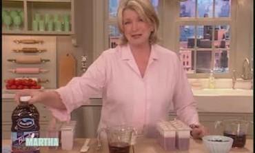 Blueberry Juice Popsicles