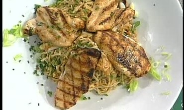 Chicken with Soba Noodles