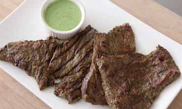 Cilantro-Buttermilk Steak