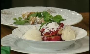 Cranberry Dumpling Desert