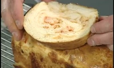 Crawfish and Cheese Bread