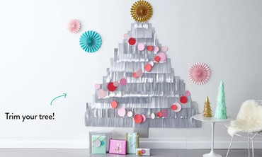 DIY Fringe Christmas Tree