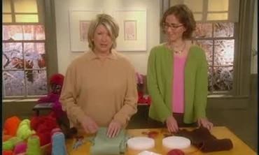 Embellishing Knit Scarves