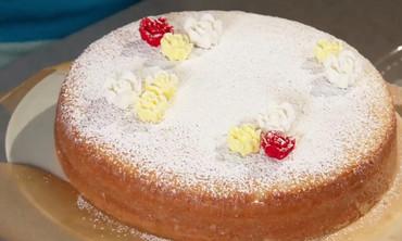 Fluffy Lemon Cake Dessert