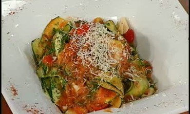 Incredible Zucchini Pasta
