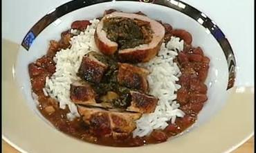 Pork Tenderloin Soul Roll