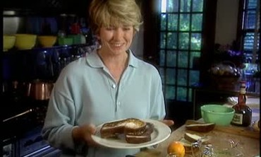 Martha Stewart Makes a Brioche French Toast