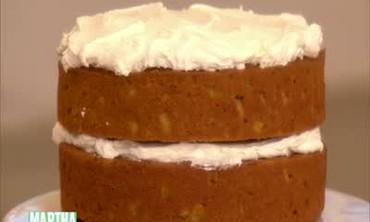 Pumpkin Layer Cake, Part 2