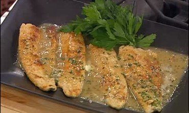 Trout with Meuniere Sauce