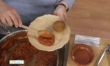 Arancini with Sauce, 2