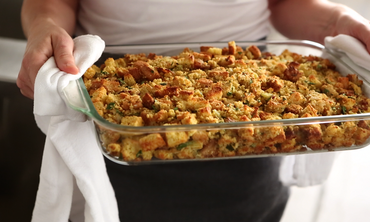 Bacon-Cornbread Stuffing