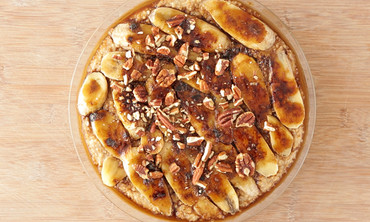 Baked Banana-Pecan Oatmeal