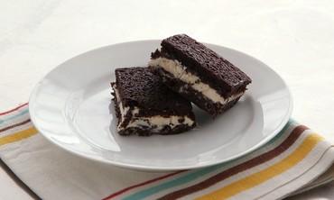 Brownie-Ice Cream Sandwich