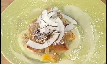Callaloo And Bread Pudding