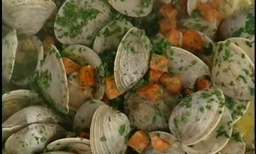 Clams with Linquine Part 6