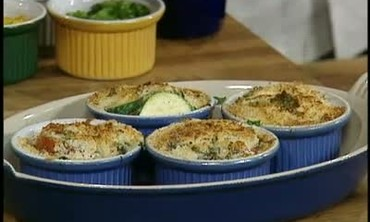 Creamy Three Potato Gratin