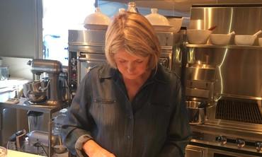 Preparing a Crudite Platter