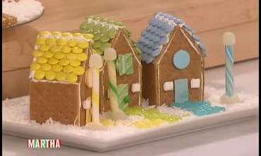 Decorative Cookie Cottages
