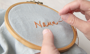 Embroidered Napkins How-To