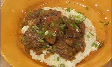 Grillades and Cheese Grits
