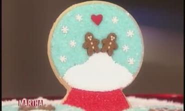 Hand-Iced Christmas Cookie
